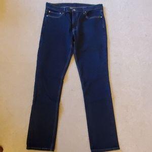 Levi's 511 Jeans Men's 36 34 Slim Fit Blue Denim